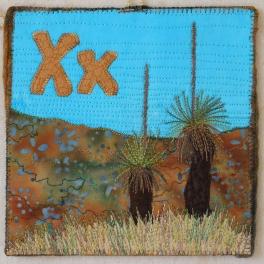 Xanthorrhoea is an Australian Grass tree